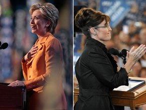 Who has more credibility Clinton or Palin?