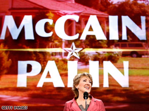 Carly Fiorina spoke at the Republican National Convention in St. Paul.