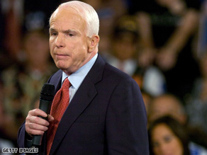 A McCain senior aide said Tuesday he helped create the Blackberry.