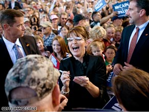 Gov. Palin discussed the economy Wednesday in her second television interview with a major national media outlet.