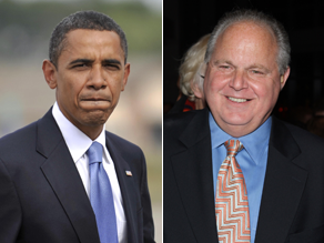 Limbaugh says an Obama ad is 'stoking racism.'