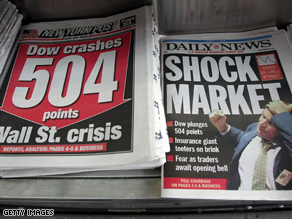 The financial crisis is worsening on a daily basis.