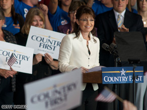 Sarah Palin says she will bring the same kind of transparency she brought to Alaska to Washington, D.C..