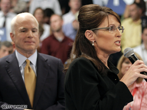McCain and Palin held a joint town hall event Wednesday.