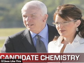 Do you think the McCain-Palin ticket has good chemistry?