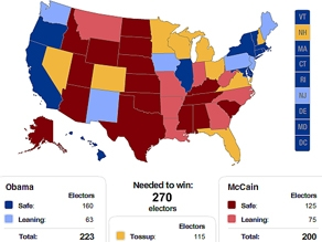 Could CNN's electoral map shift Wednesday? Check back at 4 pm for the answer.