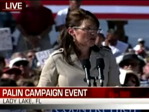 Watch Palin&#039;s event on CNN.com/live.