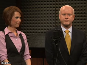 Darrell Hammond portrayed McCain on SNL Saturday night.
