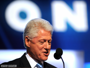 Bill Clinton said Dems shouldn't attack Palin.