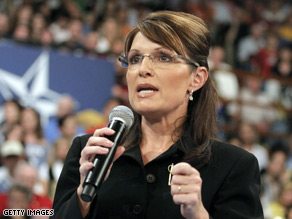 Palin accused &#039;Obama-Biden Democrats,&#039; of attacking her family Monday.