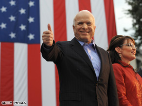 Sen. John McCain will hold his first press conference as a nominee Tuesday afternoon.