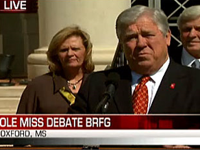 Mississippi Gov. Haley Barbour discusses Friday's debate.
