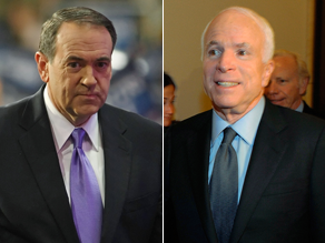 Huckabee thinks McCain made a big mistake.