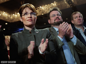 Palin was in New York City Thursday.