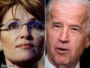 Sen. Biden and Gov. Palin will take center stage Thursday night.