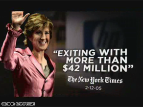 A new Obama ad targets Carly Fiorina.