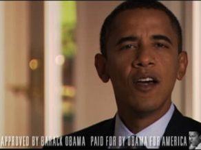 The Obama campaign has previously run a two-minute commercial; today it announced has purchased 30-minute blocks of time on the broadcast networks.