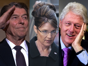 McCain said Monday Palin is being underestimated, just as Ronald Reagan and Bill Clinton were.