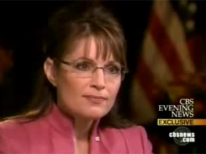 Couric interviewed Palin last week.