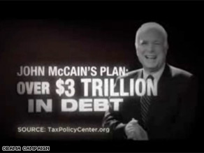 The Obama campaign released a new ad calling McCain a 'big spender'.
