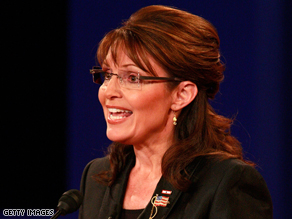 Palin attacked Bush's education policy.