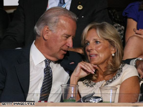 Jill Biden's mother died Sunday. Sen. Biden has canceled his campaign events planned for Monday and Tuesday.