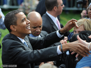 A new national survey suggests that Barack Obama is viewed as a more compassionate candidate.