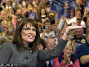 Gov. Palin will embark on a bus tour Sunday through West Virginia