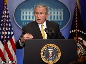  President Bush is planning to create a commission for the Presidential transition.