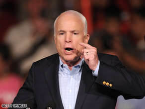McCain acknowledged anger on the trail Saturday.
