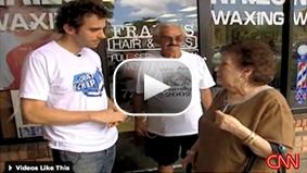 CNN's John Zarrella reports young Jews head to Florida in search of grandparents' votes for Obama.