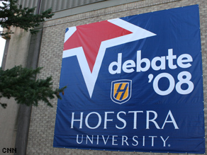 Hofstra University is the site of the final presidential debate.
