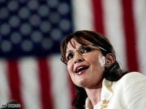Gov. Palin criticized Obama's foreign policy Tuesday.