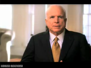 McCain is out with a new ad that's critical of President Bush.