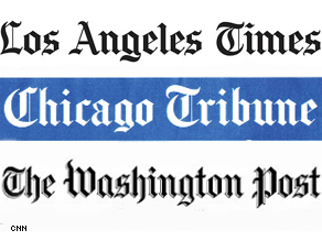Three major papers endorsed Obama.