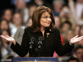 Palin has been advised to avoid campaign news.