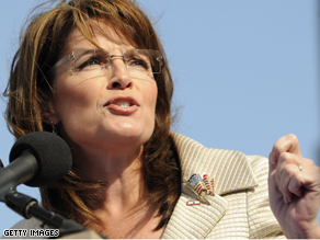 Palin pressed the McCain campaign's strategy of portraying Barack Obama's tax plan as a socialist.