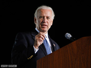 Biden occasionally slips off-message.