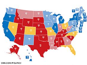 CNN's electoral map