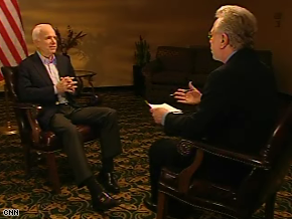 Wolf Blitzer interviewed John McCain Wednesday. The full interview will air at 6 p.m. ET in The Situation Room.