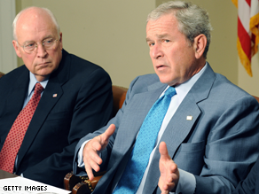 Bush and Cheney have officially cast their vote for McCain.