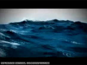 A new RNC tv ad argues that Sen. Obama is too inexperienced to captain the nation through the rough seas that it faces right now.