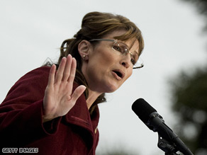Palin says Stevens should step aside.