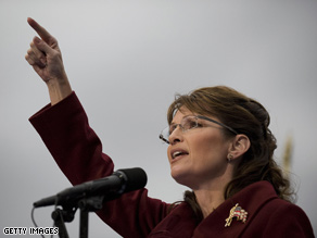 Palin will return to Alaska on Election Day.