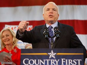 McCain's fight for Pennsylvania may not pay off.