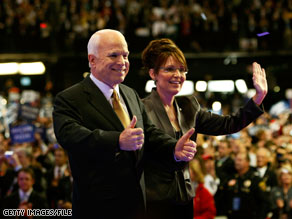 McCain and Palin rallied together today in Pennsylvania.