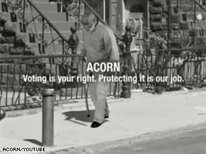 ACORN&#039;&#039;s new TV ad says &#039;not this time&#039; to alleged voter suppression and intimidation.