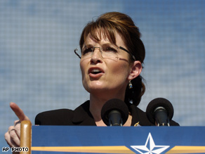 Palin's criticized Obama's ties to Palestinian professor Rashid Khalidi.
