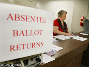 Some voters still haven&#039;t received absentee ballots.