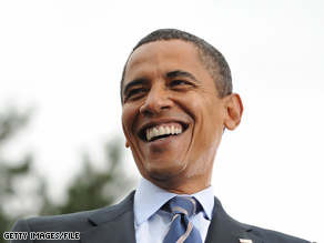 Sen. Obama campaigned in East Lansing, Michigan at the beginning of this month.